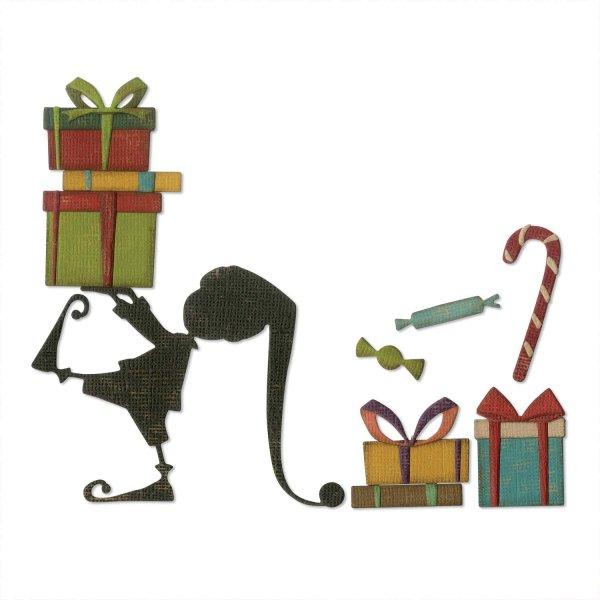 Sizzix Thinlits Die Santas Helper by Tim Holtz
