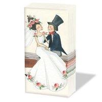 Ambiente Taschentücher wedding 21,5x21,5cm 10 Stück
