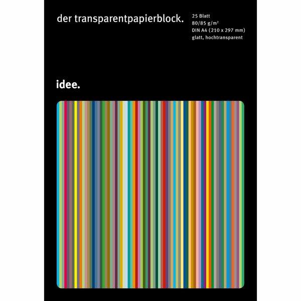 Hahnemühle Transparentpapier A4 80-85g/m² 25 Blatt