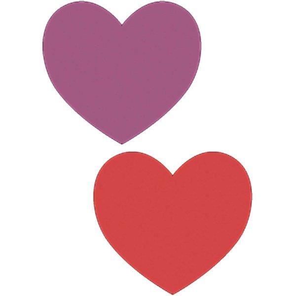 Paper Poetry Papierzuschnitte Herzen mehrfarbig 9 Stück