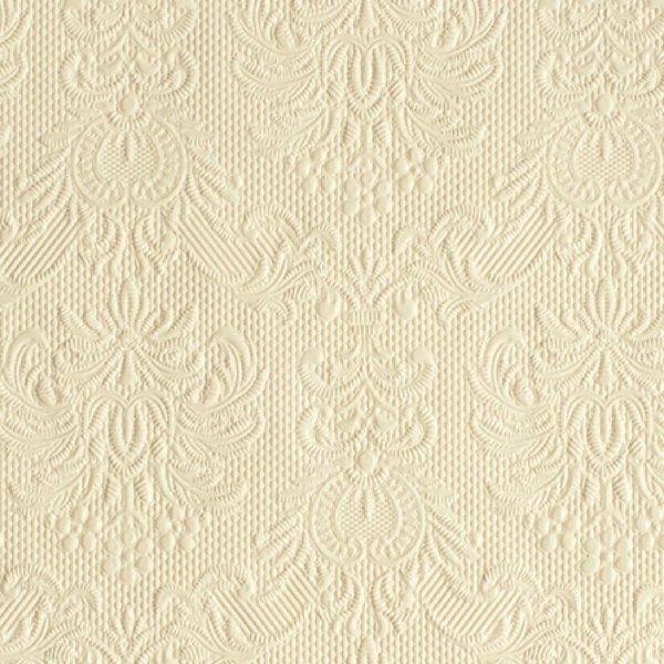 Ambiente Serviette elegance cream 33x33cm 15 Stück
