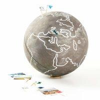 Anleitung Globus basteln