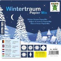 Nice Papers Papier Mix Wintertraum 12 Designs 15x15cm 112 Blatt