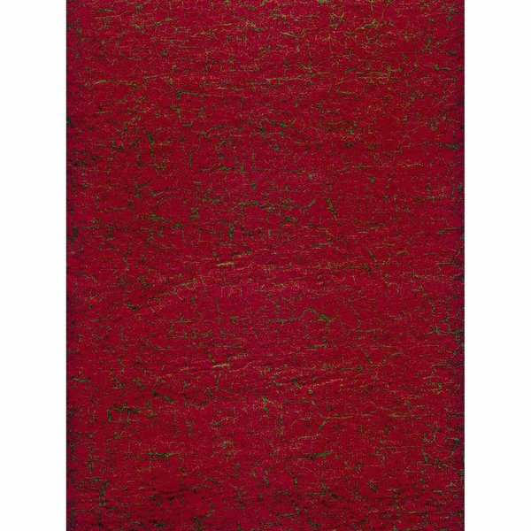 décopatch Papier crackle rot-gold 3 Bogen