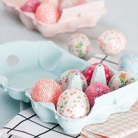 Anleitung Ostereier mit Paper Patch gestalten