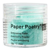 Paper Poetry Embossingpuder mint perlmutt 10g