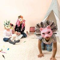 Anleitung tierische Karnevalsmasken