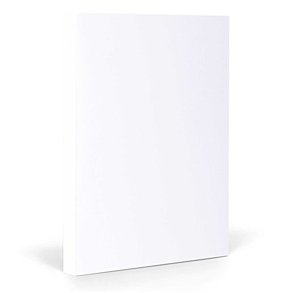 FANTASTICPAPER Notizbuch A5 blanco snow-silver
