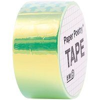 Paper Poetry Mirror Rainbow Tape grün 19mm 5m