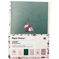 Paper Poetry Kartenset Magical Christmas A6 / C6 12teilig