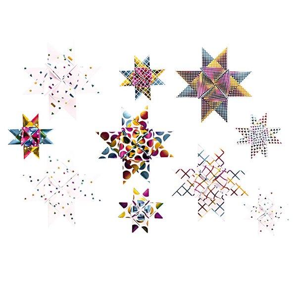 Paper Poetry Fröbelstreifen Graphic Regenbogen 40 Stück