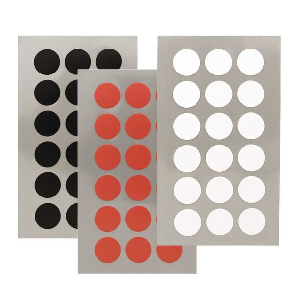 Rico Design Office Sticker Punkte 15mm 4 Bogen