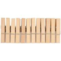 Rico Design Holzklammern natur 4,5cm 24 Stück