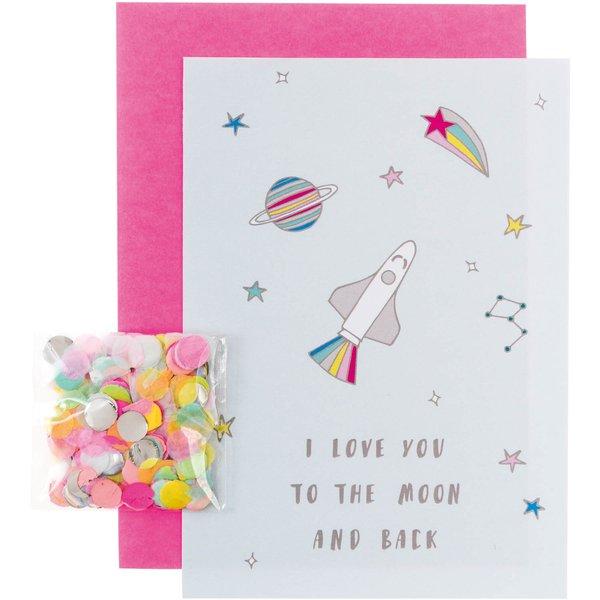 Paper Poetry Grußkartenset Wonderland Moon