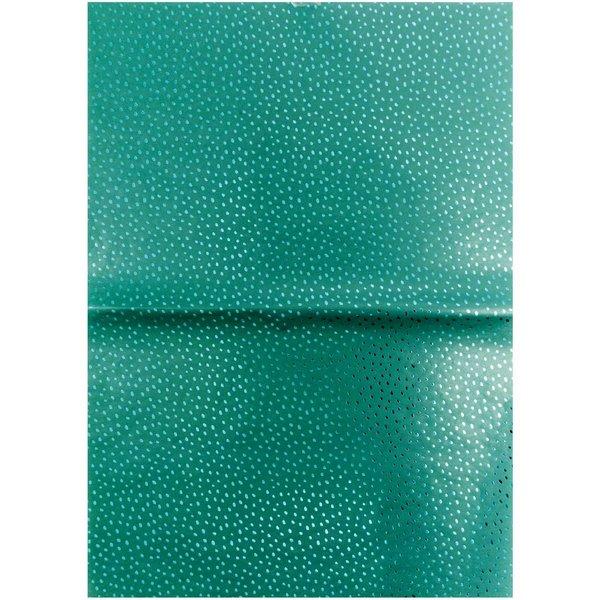 Rico Design Paper Patch Papier Hygge Punkte grün 30x42cm