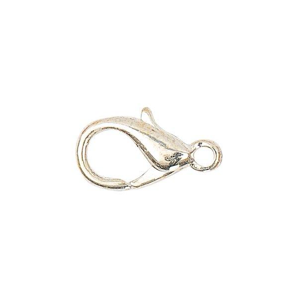 Jewellery Made by Me Karabiner silber 12mm 10 Stück