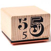 Rico Design Stempel 5 3,5x3,5cm