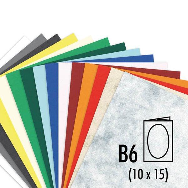 Artoz S-Line Passepartouts B6 oval marmoriert 200g/m² 5 Stück