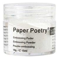Paper Poetry Embossingpuder perlmutt 10g