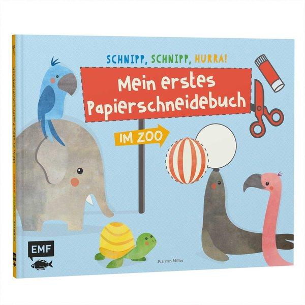 EMF Mein erstes Papierschneidebuch - im Zoo