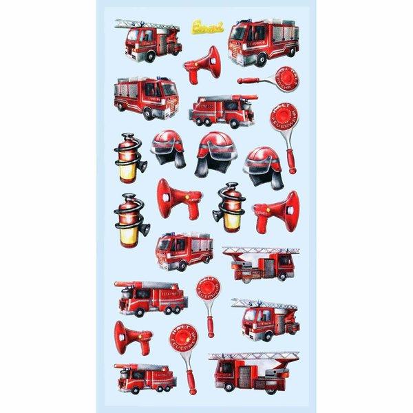 HobbyFun SoftySticker Feuerwehr
