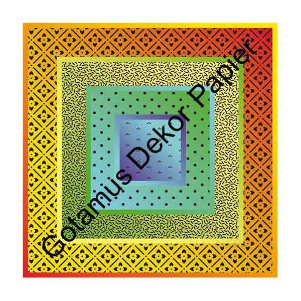 nice papers origami papier muster mix 15x15cm 62 blatt - Bastelpapier Muster