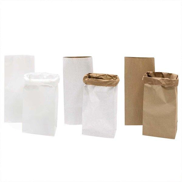 Paper Poetry Maxi-Blockbodenbeutel M 51x23x13,5cm 2 Stück