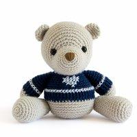 Häkelanleitung Teddybär