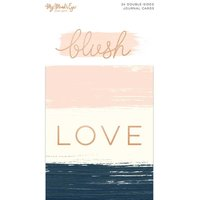 MyMindsEye Blush - Journal Cards