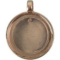 Jewellery Made by Me Anhänger für Buttons roségold 32,5x25,5mm