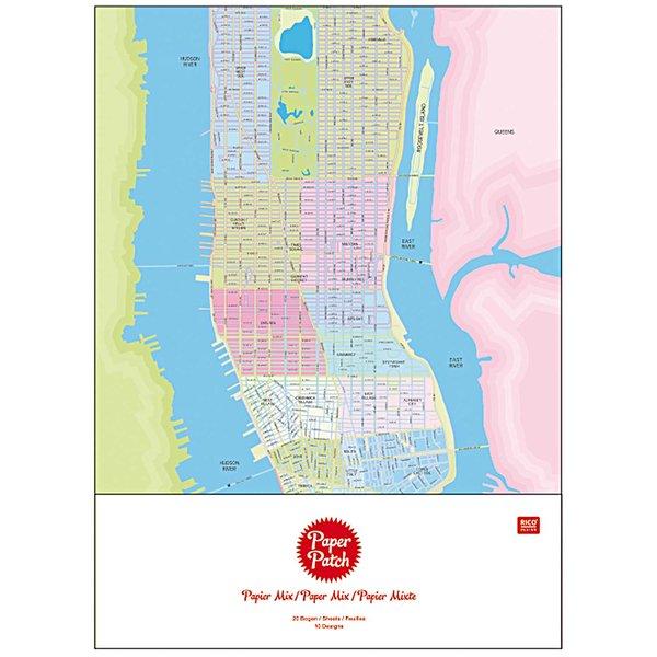 Rico Design Paper Patch Papier Mixpackung 30x42cm 20 Bogen