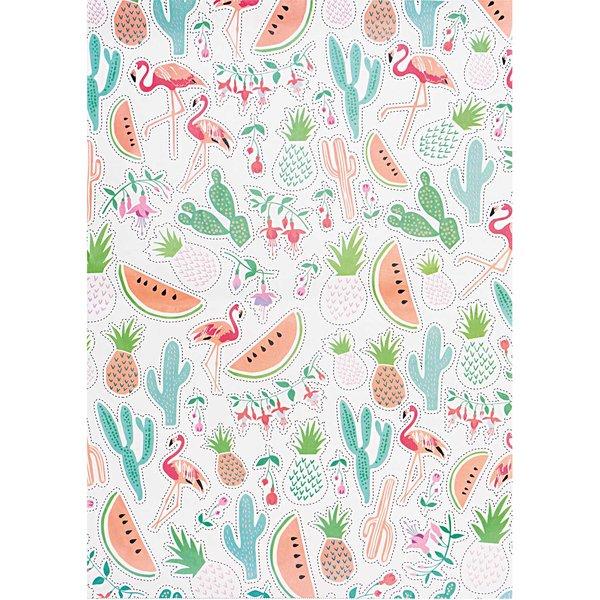 Rico Design Paper Patch Papier Tropical Spring 30x42cm