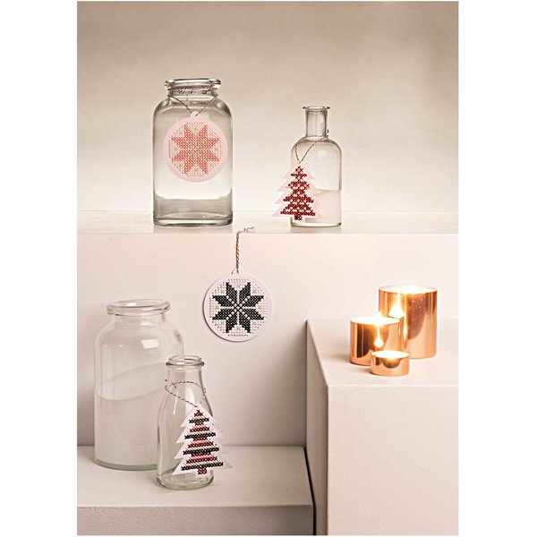 Rico Design Stickpackung Weihnachtsanhänger