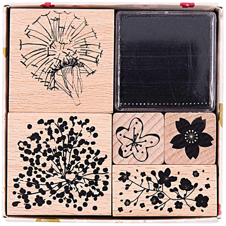Band Rico Design Geschenkanhänger Romantic Flowers 30 Stück