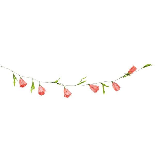 Ohhh! Lovely! Papierblumen Girlande pink 180 cm