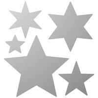 Rico Design Spiegel Sterne 5 Stück