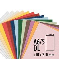 Artoz Doppelkarte Serie 1001 A6/5 220g/m² 5 Stück