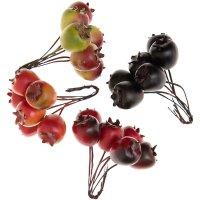 Apfelbund farbig sortiert 4 Stück