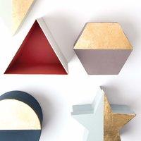 Anleitung Pappboxen mit Blattmetall gestalten