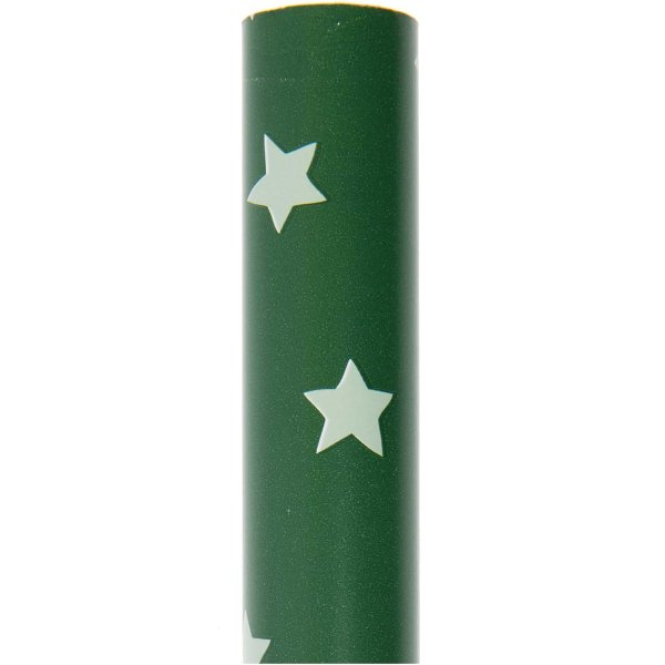 Paper Poetry Geschenkpapier Nostalgic Christmas Sterne grün 70cm 2m