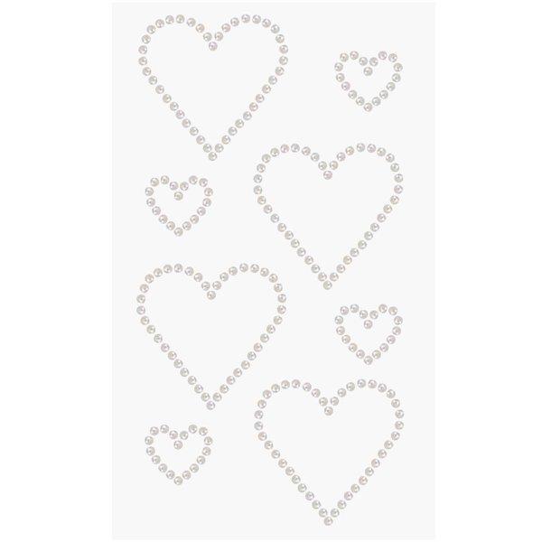 Paper Poetry Perlen-Sticker Doppelherzen