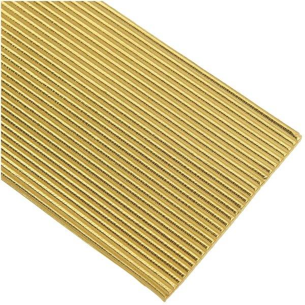 efco Wachsstreifen rund gold 2mm 20cm