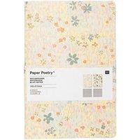 Paper Poetry Notizbücher Crafted Nature blau A5 40 Seiten 2 Stück