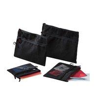 RUMOLD Mesh bag schwarz B6 200x150mm