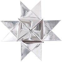 Rico Design Fröbelstreifen XS silber 80 Stück