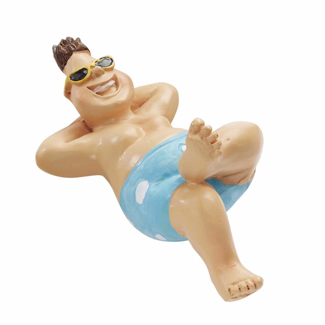 HobbyFun Bade-Urlauber für Liegestuhl