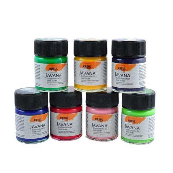 KREUL Javana Stoffmalfarbe für helle Stoffe 50ml