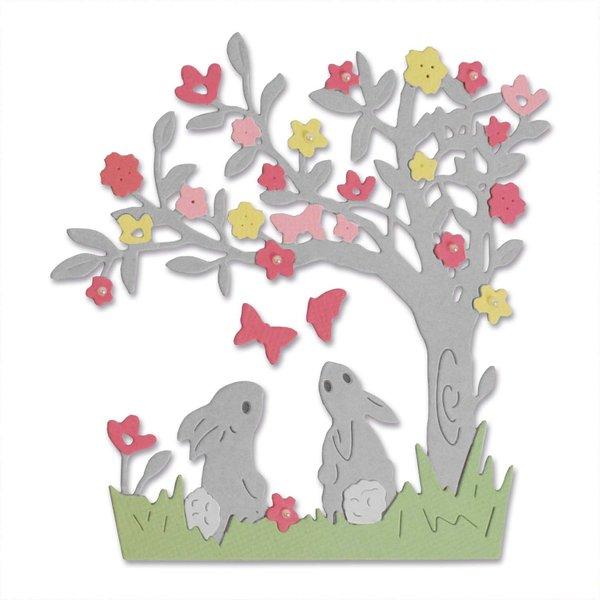 Sizzix Thinlits Die Set Bunny Scene by Olivia Rose