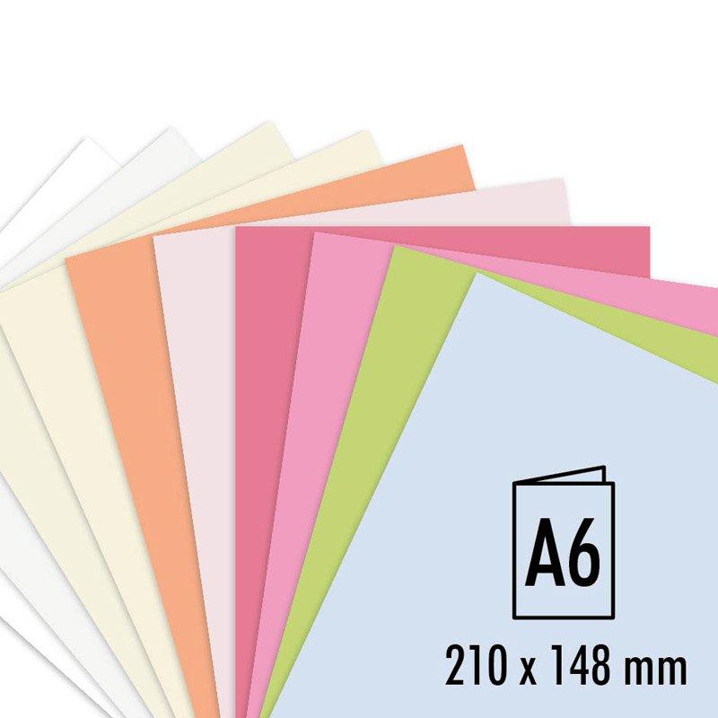 Artoz Doppelkarte Perga pastell A6 200g/m² 5 Stück