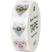 Paper Poetry Tape Hello Baby Herzen 1,5cm 10m